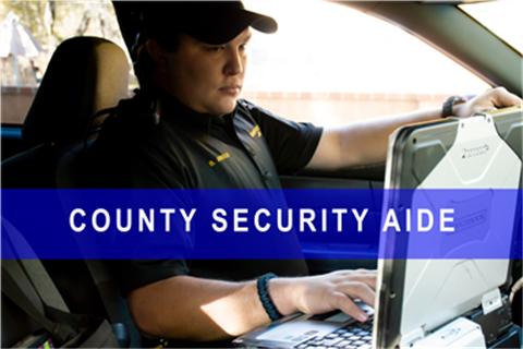 County Security Aide