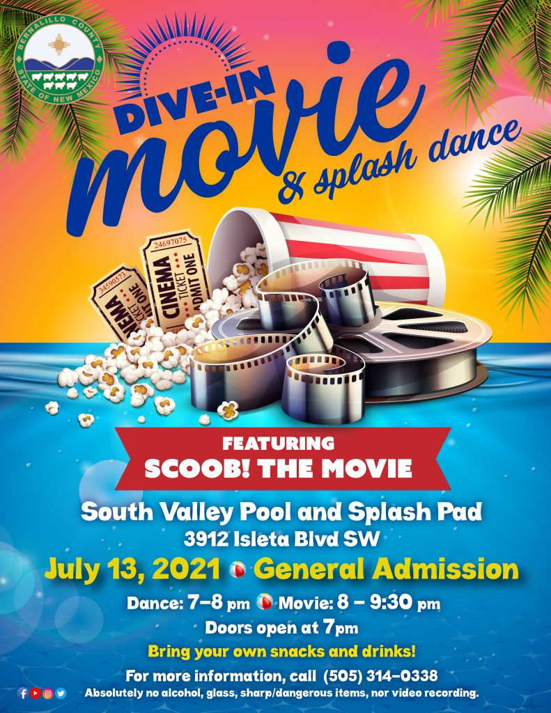 Dive-In Movie - Scoob! @ South Valley Pool and Splash Pad