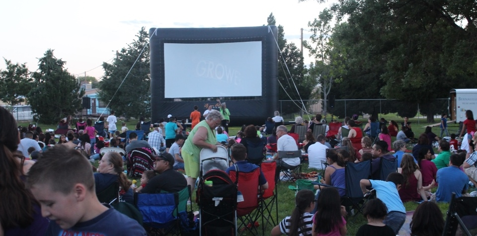 Movies in the Park returns for the summer of 2021 on June 5!