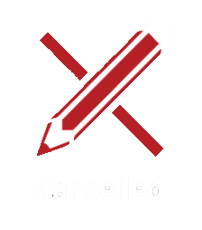 Red pencil icon - Status - Cancelled