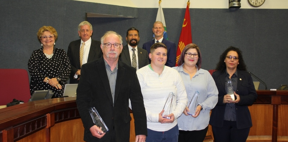 BERNCO BOARD OF COMMISSIONERS RECOGNIZES EMPLOYEES OF THE QUARTER