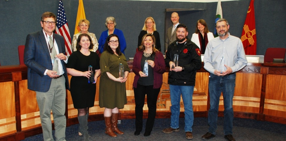BERNCO BOARD HONORS EMPLOYEES OF THE QUARTER