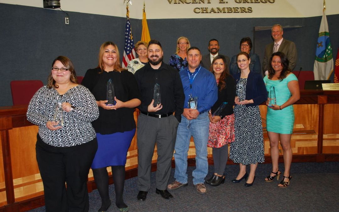 BERNCO BOARD RECOGNIZES EMPLOYEES OF THE QUARTER FOR 1ST QUARTER FY18