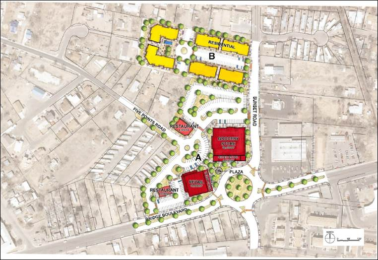 Map of Five Points Plan