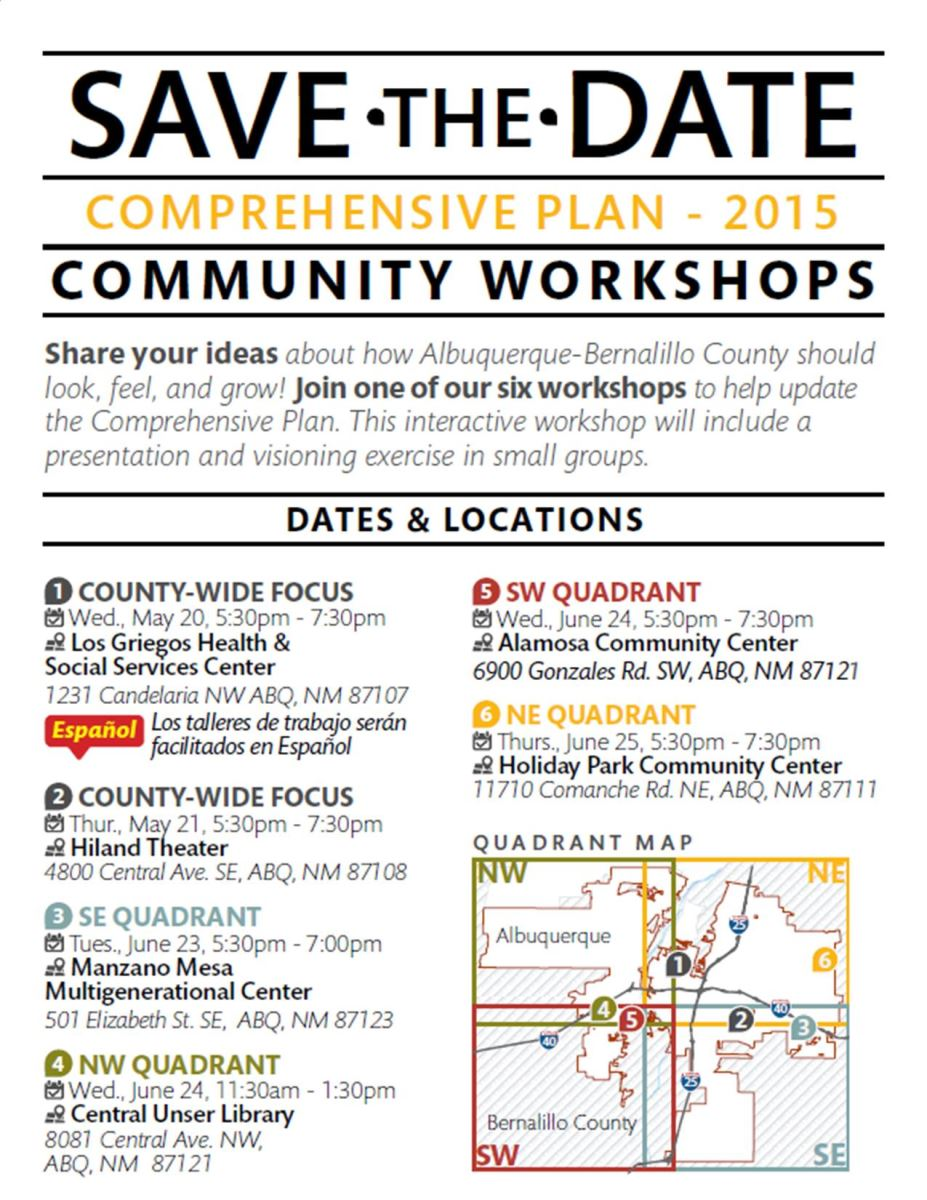 Save the Date flier page 2