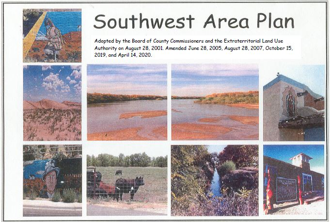 PDF cover with various photographs of area