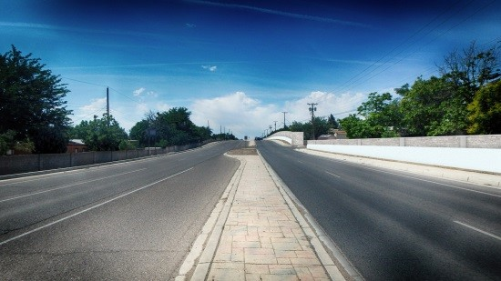 UNSER BOULEVARD FROM PARADISE TO IRVING SOUND WALL PROJECT