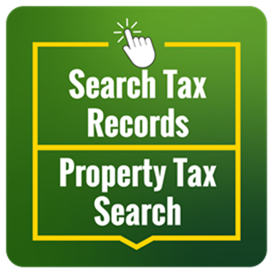 Text that says Search Tax Records