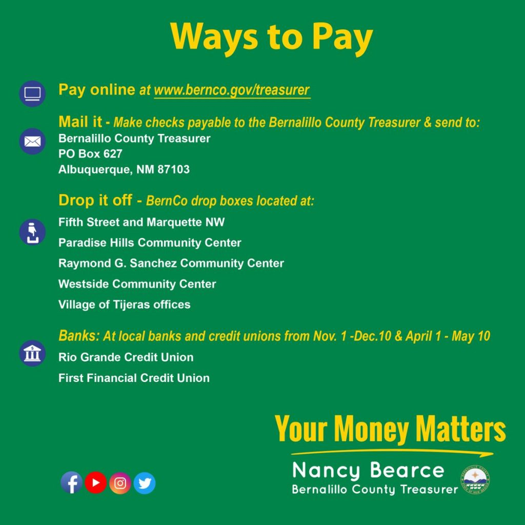 Ways to pay Property tax